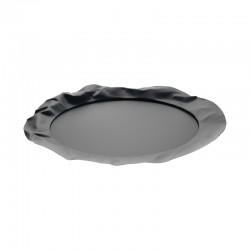 Round Tray - Foix Super Black - Alessi