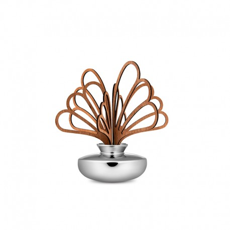 Leaf Fragrance Diffuser Uhhh - The Five Seasons Silver - Alessi ALESSI ALESMW647SAG