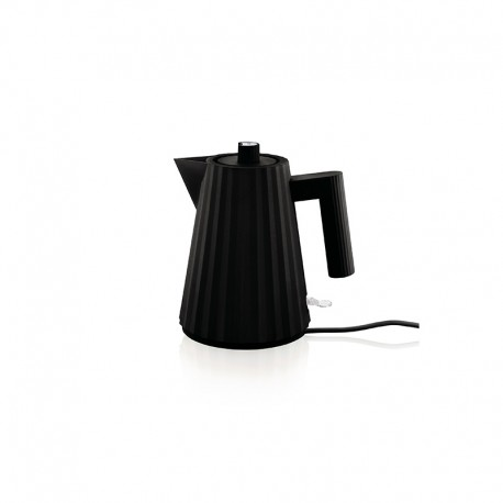 Electric Kettle 1lt - Plissé Black - Alessi ALESSI ALESMDL06/1B