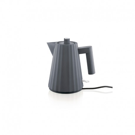 Electric Kettle 1lt - Plissé Grey - Alessi ALESSI ALESMDL06/1G