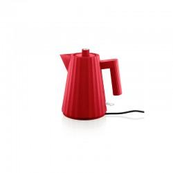 Electric Kettle 1lt - Plissé Red - Alessi ALESSI ALESMDL06/1R