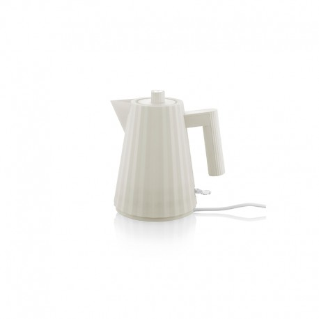 Electric Kettle 1lt - Plissé White - Alessi ALESSI ALESMDL06/1W