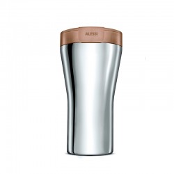Thermal Carafe 400ml - Caffa Brown - Alessi