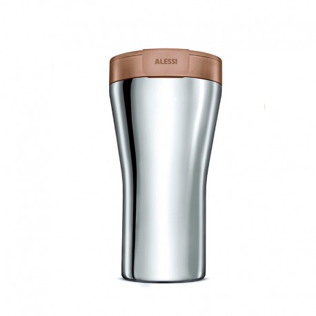 Thermal Carafe 400ml - Caffa Brown - Alessi ALESSI ALESGIA24BR