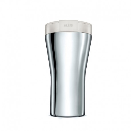 Thermal Carafe 400ml White - Caffa - Alessi ALESSI ALESGIA24W