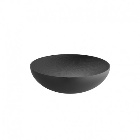 Bowl ø25cm Black - Double - Alessi ALESSI ALESDUL02/25BT