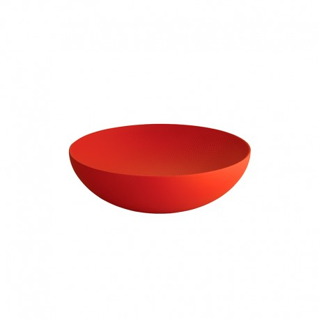 Bowl ø25cm Red - Double - Alessi ALESSI ALESDUL02/25RT