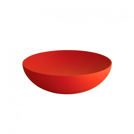 Bowl ø32cm Red - Double - Alessi ALESSI ALESDUL02/32RT