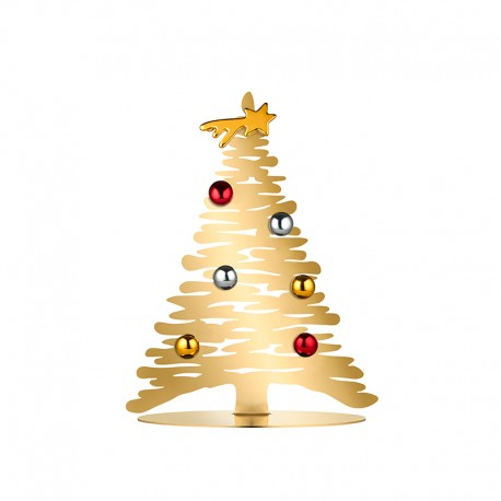 Christmas Gold Tree 30cm - Bark for Christmas - Alessi ALESSI ALESBM06/30GD