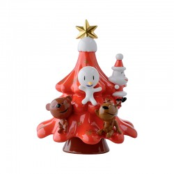 Red Christmas Ornament - Xmas Friends Red - A Di Alessi