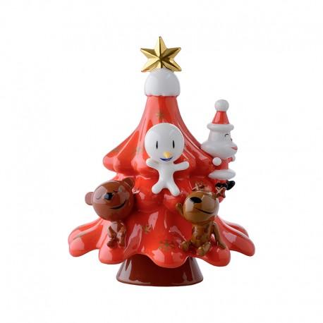 Red Christmas Ornament - Xmas Friends Red - A Di Alessi A DI ALESSI AALEAMGI51R