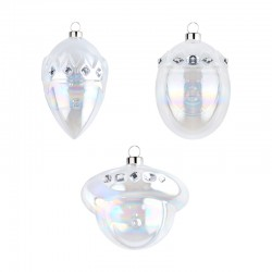 Set of 3 Ornaments - Le Palle Presepe - A Di Alessi