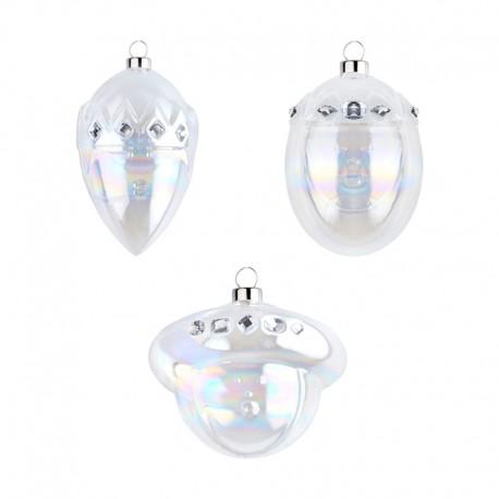 Set of 3 Ornaments - Le Palle Presepe - A Di Alessi A DI ALESSI AALEAMJ14SET2G