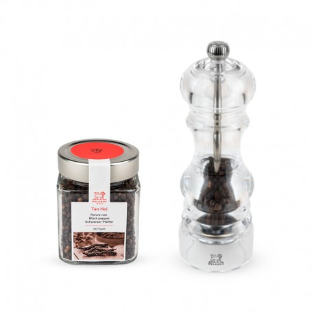 Coffret Nancy and Tan Hoi Pepper Transparent - Peugeot Saveurs PEUGEOT SAVEURS PG37345