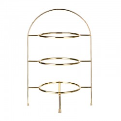 Etagere 3 Tiers Gold 49Cm Steel - Asa Selection