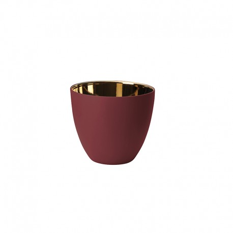 Lantern Raspberry and Gold Shiny Ø7,2cm – Saisons - Asa Selection ASA SELECTION ASA10240641