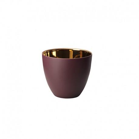 Lantern Blackberry and Gold Shiny Ø7,2cm – Saisons - Asa Selection ASA SELECTION ASA10240645