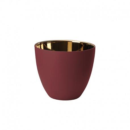 Lantern Raspberry and Gold Shiny Ø9cm – Saisons - Asa Selection ASA SELECTION ASA10241641