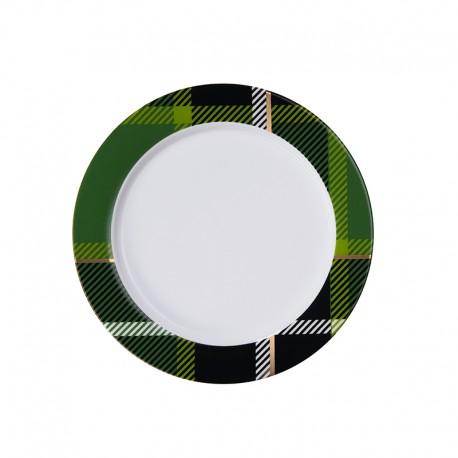 Plate with Rim Green - Tartan - Asa Selection ASA SELECTION ASA29415090