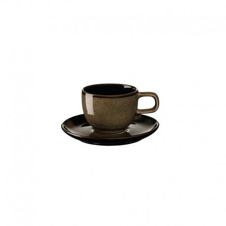 Espresso Cup with Saucer Chestnut - Kolibri - Asa Selection ASA SELECTION ASA25412250