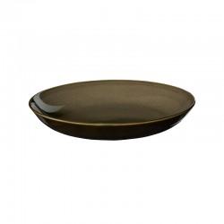 Coupe Gourmet Plate Ø24cm Chestnut – Kolibri - Asa Selection