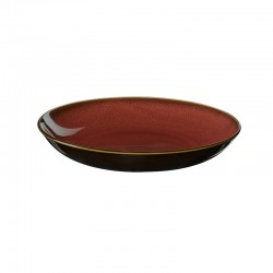 Coupe Gourmet Plate Ø24cm Rusty Red – Kolibri - Asa Selection