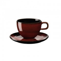 Coffee Cup with Saucer Rusty Red - Kolibri - Asa Selection ASA SELECTION ASA25513250