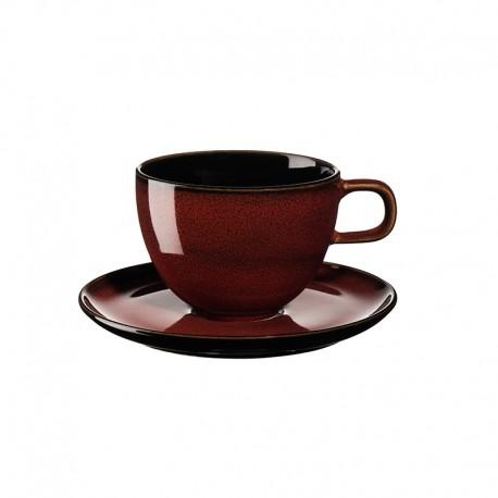 Coffee Cup with Saucer Rusty Red - Kolibri - Asa Selection ASA SELECTION ASA25513250