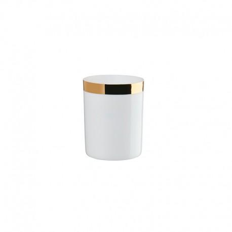 Lantern with Golden Rim ø6cm - Xmas White And Gold - Asa Selection ASA SELECTION ASA10300425
