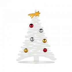Árbol de Navidad 30cm - Bark for Christmas Blanco - Alessi