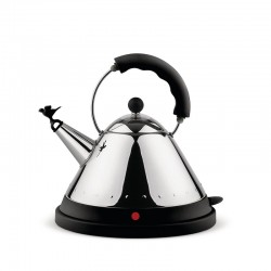 Cordless Electric Kettle Black - MG32 - Alessi