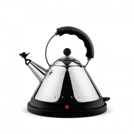 Cordless Electric Kettle Black - MG32 - Alessi ALESSI ALESMG32B