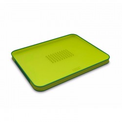 Chopping Board Green - Cut&Carve Plus - Joseph Joseph