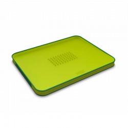 Chopping Board Green - Cut&Carve Plus - Joseph Joseph