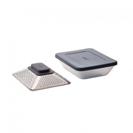 Box Grater with Storage Container - Prism Grey - Joseph Joseph JOSEPH JOSEPH JJ20104