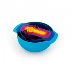 7-Piece Nesting Bowl Set - Nest 7 Plus Multicolour - Joseph Joseph