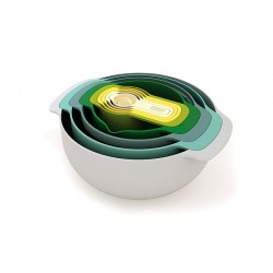 9-Piece Nesting Bowl Set - Nest 7 Plus Opal - Joseph Joseph