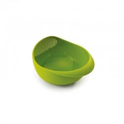Taça com Escorredor Verde - Prep&Serve Pequena - Joseph Joseph