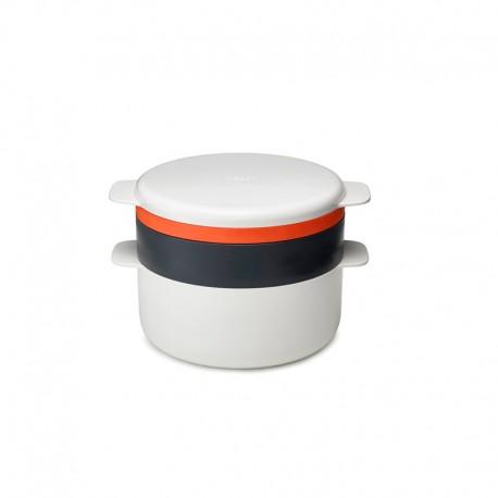 Conjunto de Cozedura para Micro-Ondas - M-Cuisine Branco, Cinza E Laranja - Joseph Joseph JOSEPH JOSEPH JJ45001