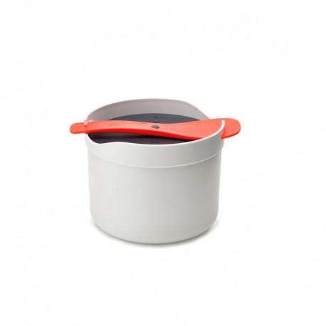 Cozedor de Arroz para Microondas - M-Cuisine Branco E Laranja - Joseph Joseph JOSEPH JOSEPH JJ45002