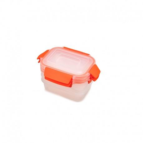 Set of 3 Storage Container 540ml - Nest Lock Orange - Joseph Joseph JOSEPH JOSEPH JJ81084
