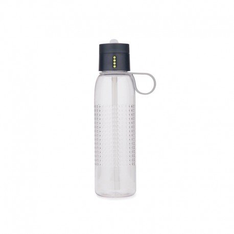 Water Bottle with Counting Lid - Dot Active Grey - Joseph Joseph JOSEPH JOSEPH JJ81094