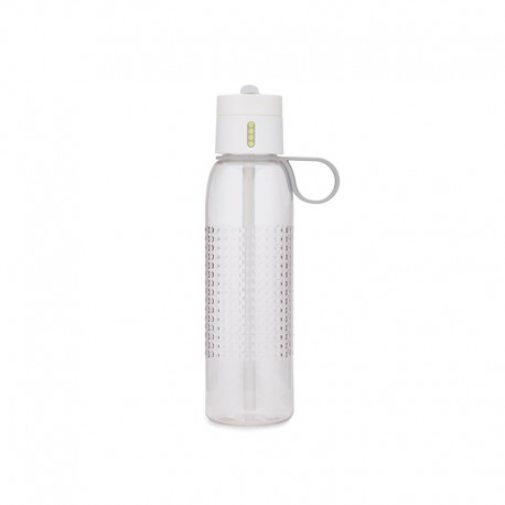 Water Bottle with Counting Lid - Dot Active White - Joseph Joseph JOSEPH JOSEPH JJ81095
