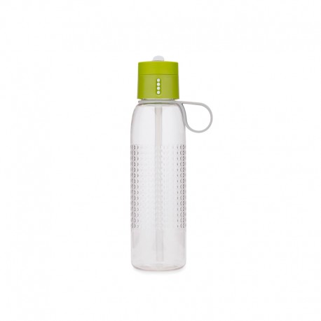 Water Bottle with Counting Lid - Dot Active Green - Joseph Joseph JOSEPH JOSEPH JJ81096