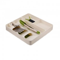 Cutlery, Utensil and Gadget Organiser White - DrawerStore White And Grey - Joseph Joseph JOSEPH JOSEPH JJ85128