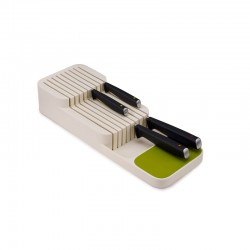 Knife Organiser White - DrawerStore White And Green - Joseph Joseph JOSEPH JOSEPH JJ85142