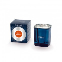 Vela Perfumada - Benzoin y Almizcle Azul - Esteban Parfums