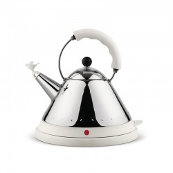 Cordless Electric Kettle White - MG32 - Alessi ALESSI ALESMG32W