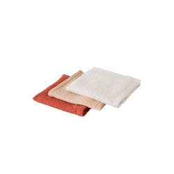 Set of 3 Dish Cloth - Everyday Grey, Nude And Terracotta - Rig-tig RIG-TIG RTZ00114