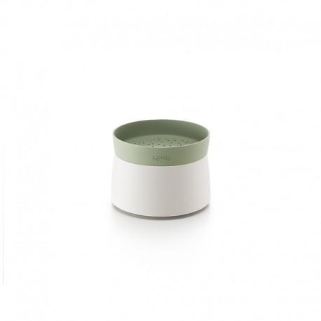Cozedor de Quinoa e Arroz no Microondas Verde Claro E Branco - Lekue LEKUE LK0200700V17M017